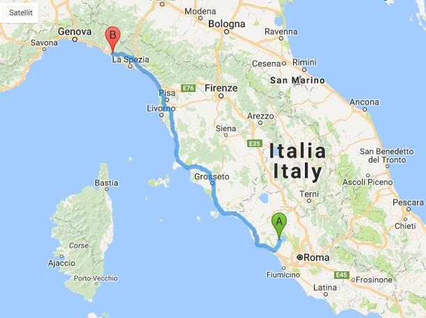 Italien Rundt Del4